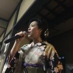 居酒屋おふくろに、歌手の岡田しのぶさんが来た(^^)